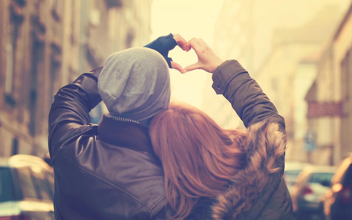 Dating jemand neuen Valentinstag